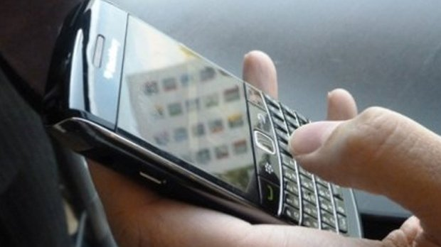 Scatta il pollice con il blackberry