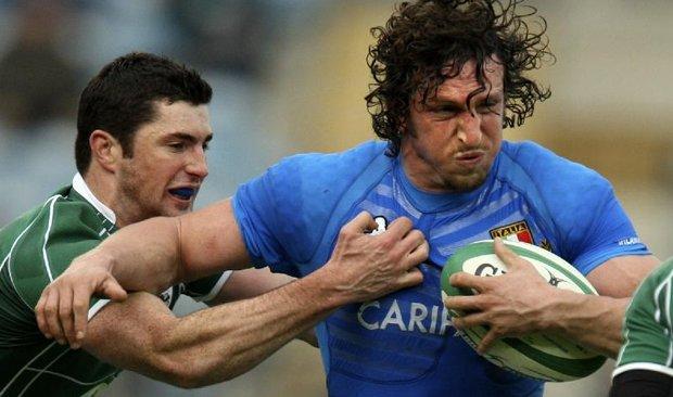 Rugby: quattro mesi senza Bergamasco
