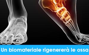 Un biomateriale rigenererà le ossa