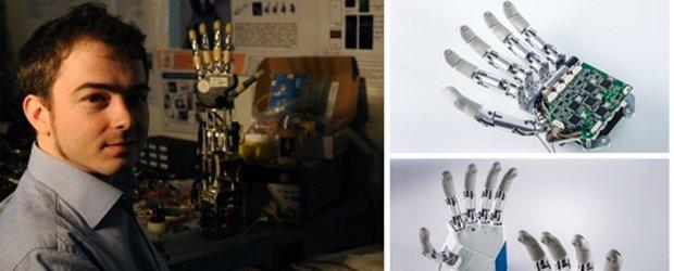 MYKI', la mano robotica è italiana