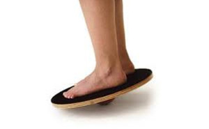 Con il trauma alla caviglia, in tilt l'equilibrio