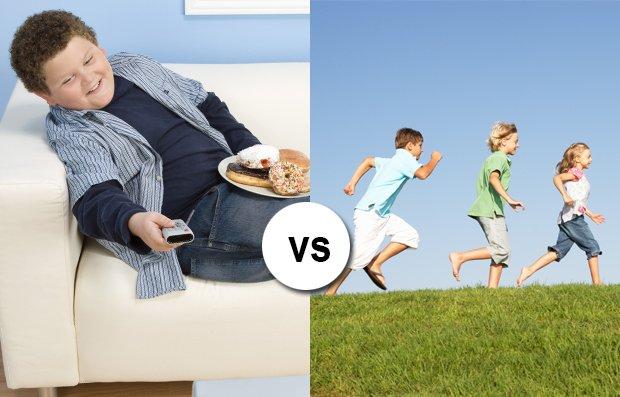 Bambini obesi o iperattivi: un problema a due facce
