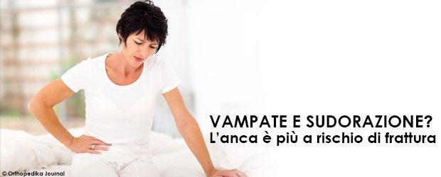 Menopausa anca frattura