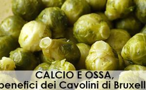 CALCIO E OSSA, i benefici dei Cavolini di Bruxelles