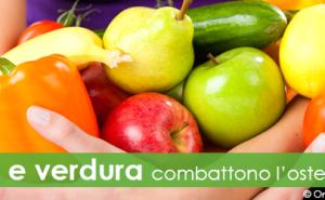 Frutta e verdura combattono l'osteoporosi