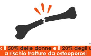 Salute: il 50% delle donne e il 20% degli uomini a rischio fratture da osteoporosi
